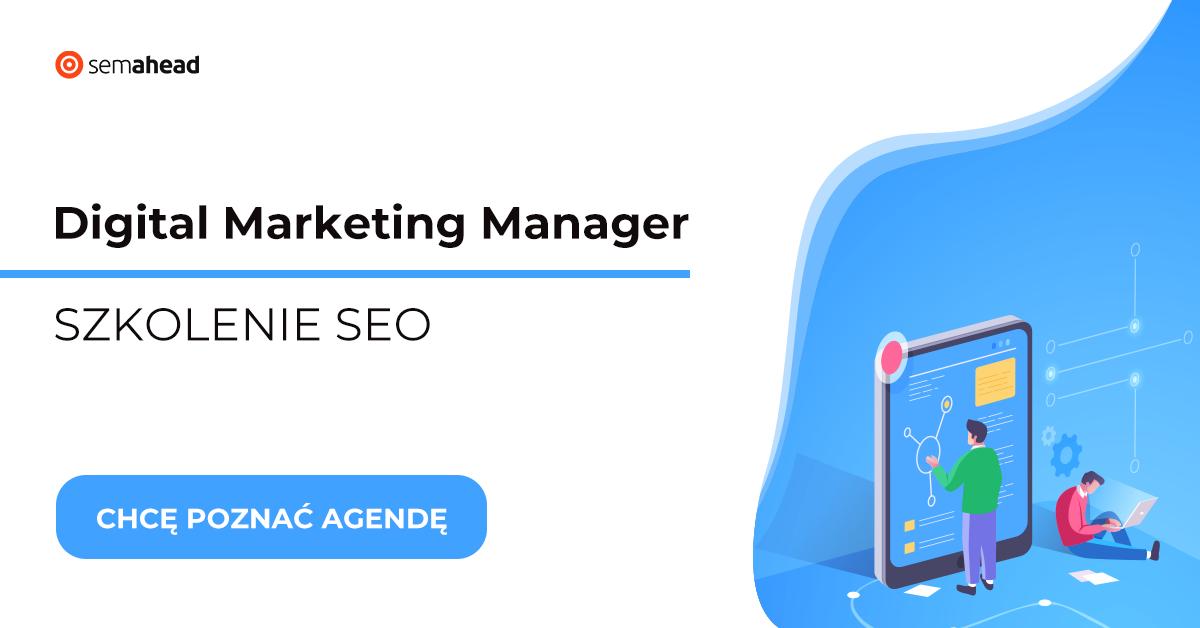 Innowacyjne szkolenie Social Media Manager SEO
